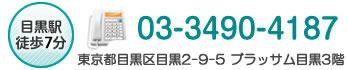 お問い合わせ電話番号03-3490-4187
